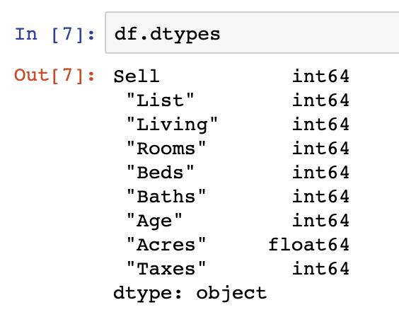 Understanding Pandas DataFrame Column Contents - Data Courses